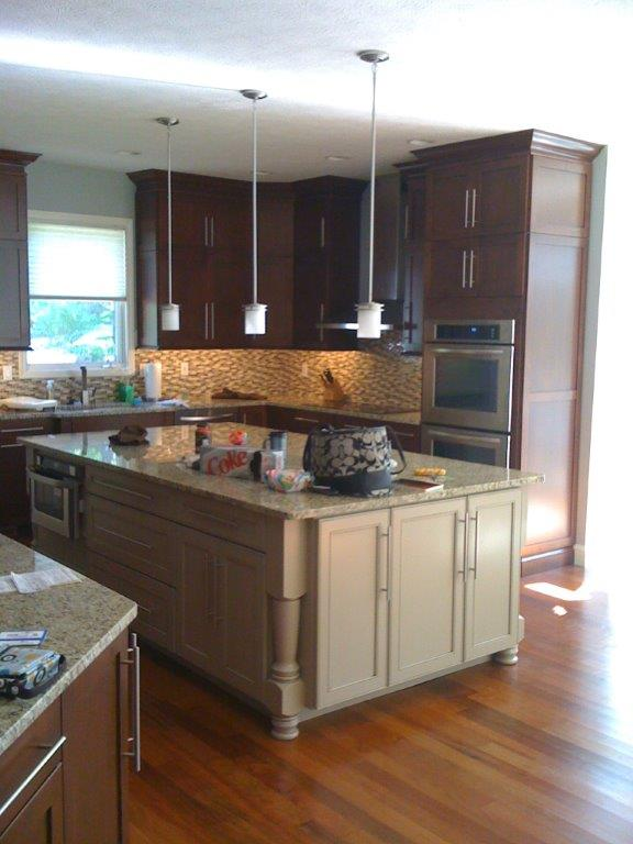 Large Island Kitchen Artisan Interiors And Builders