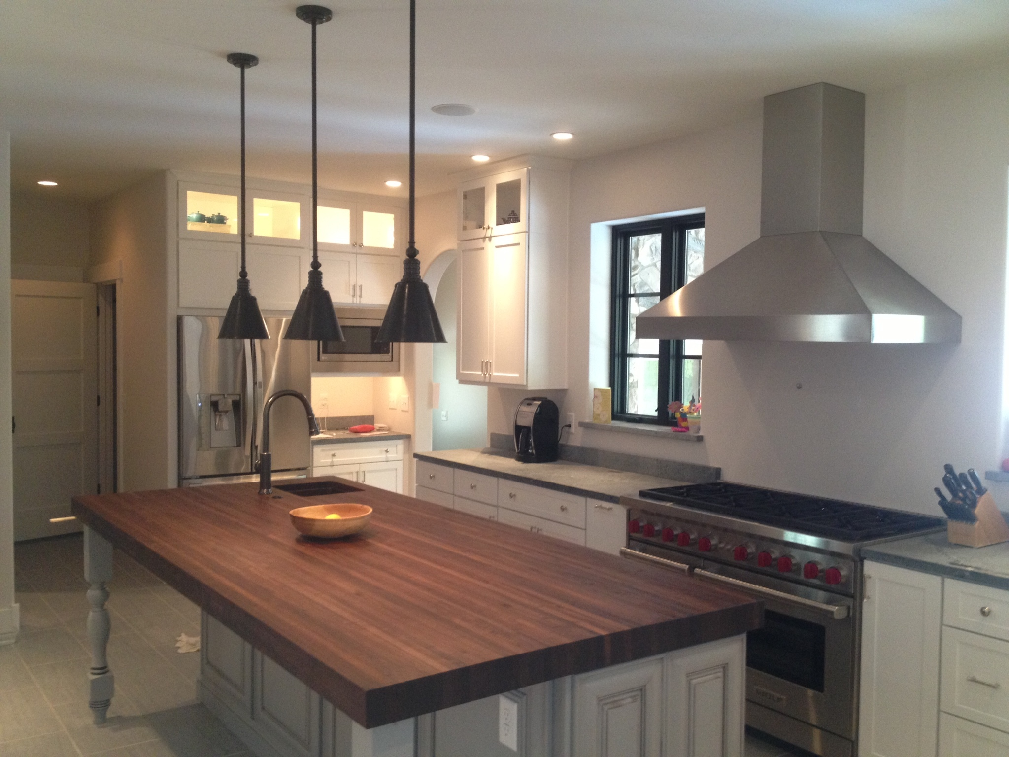 Butcher Block Island Artisan Interiors And Builders