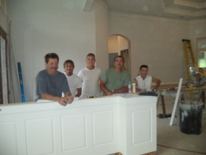 Incredibly thankful for these fine gentlemen ~ truly talented and skilled craftsmen!